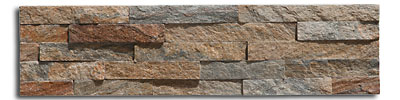 Sunset Gray quartzite thin panel size 600x150x10-20mm
