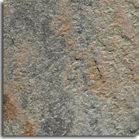 Sunset Gray flamed finish tile size 150x150mm