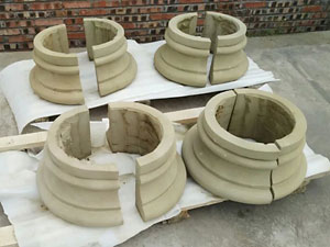 sandstone ccolumn base cover