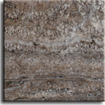 Dark Silver Travertine