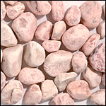 pink tumbled pebble